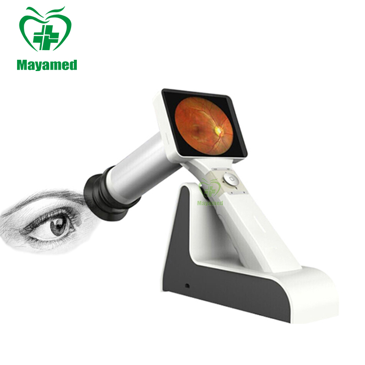 Top Quality Medical portable ophthalmic optical Diagnosis equipment digital Handheld Eye Retinal Fundus Camera