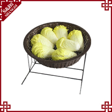 Wholesale Chinese factory plastic vegetable rack for fruit and vegetable display in store and supermarket