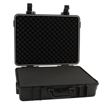 Hard plastic anti-shock ABS case with foam