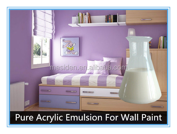 MESIDEN High Performance Water Based Pure Acrylic Copolymer Emulsion/Acrylic Latex