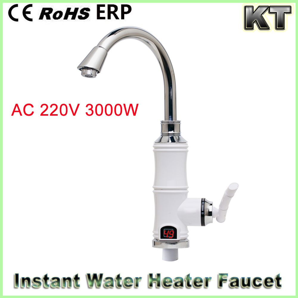 Digital electric faucet