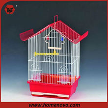 small crate metal wire bird cage