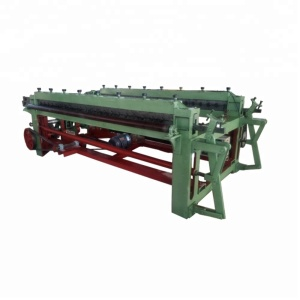 pvc coated gabion box machine