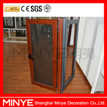 European standard double insulated cheap aluminium casement window