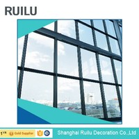 Aluminum frame glass wall/Exterior building curtain