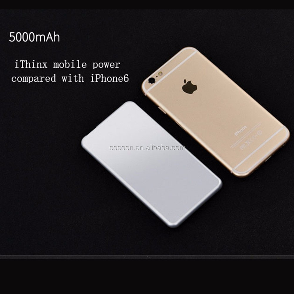 ultra slim 7.5mm portable power bank camera hidden KC power bank for m5 mini card phone