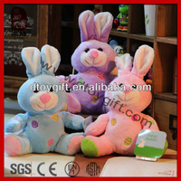 High quality kid toys 2014 christmas valentines easter wholesale gifts soft easter rabbit toy stuffed cute rabbit plush animal