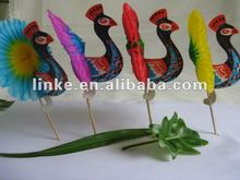 Umbrella Stick/Peacock Sticks/Beer Sticks/Flower Sticks for Party Sticks