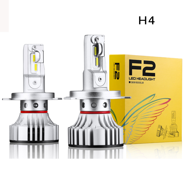 Super Bright 12000LM C-R-E-E Car Led Headlight H4 Hi/Lo F2 Auto Led Headlight Bulb 9005 9006 H11 H7 6500K