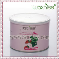 Waxkiss 400ml soft depilatory wax with strawberry contains plenty of Vitamin C which is good for whitening the skin
