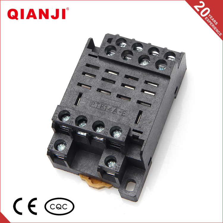 QIANJI China Product High Quality PTF14A-E Automotive Relay With Relay Socket