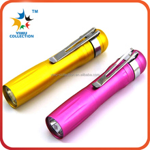 Personalized Cheap Bulk led Mini Flashlight aa, Pocket Small Multi color led Mini Flashlight Torch for kids, Mini led Flashlight