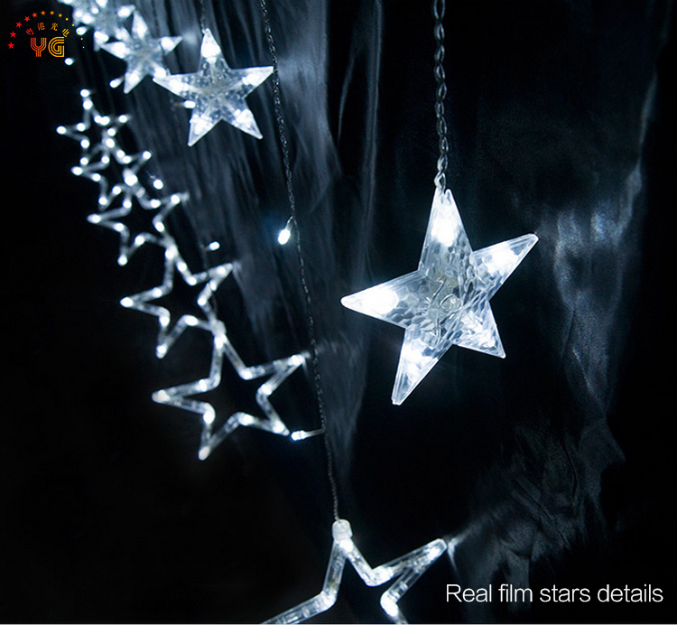 Ce rohs novelty items seven bright stars christmas wide lights for 12g aloadofball Gallery