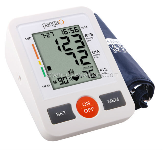 pangao hot sale digital price sphygmomanometer parts of japan alpk2 sphygmomanometer with CE