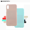 2018 Trending Products Original Mercury Goospery Soft Feeling Jelly Tpu Liquid Silicone Luxury Ultra Thin Phone Case For Iphone