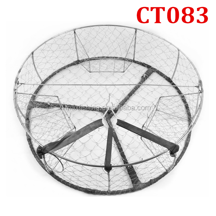 Canada USA Round stainless steel wire crab trap