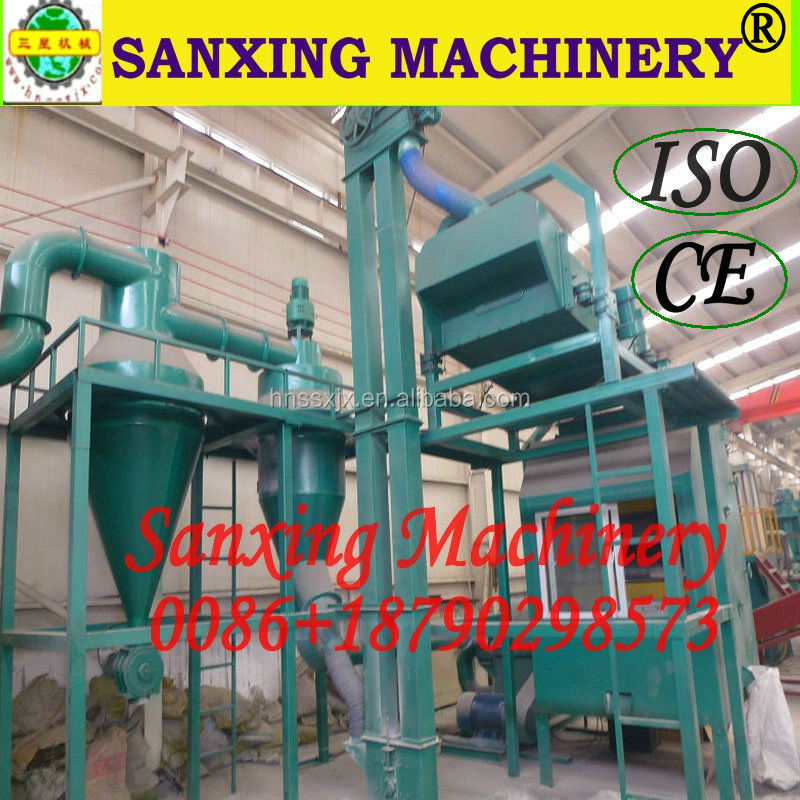 Latest Green Tech @ separating aluminum PVC machine,Recycling aluminum plastic machine/Plant