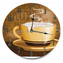 Decor 12 in. Decorative MDF Wood Wall Clock Islamic Prayer Digital Wall Clock