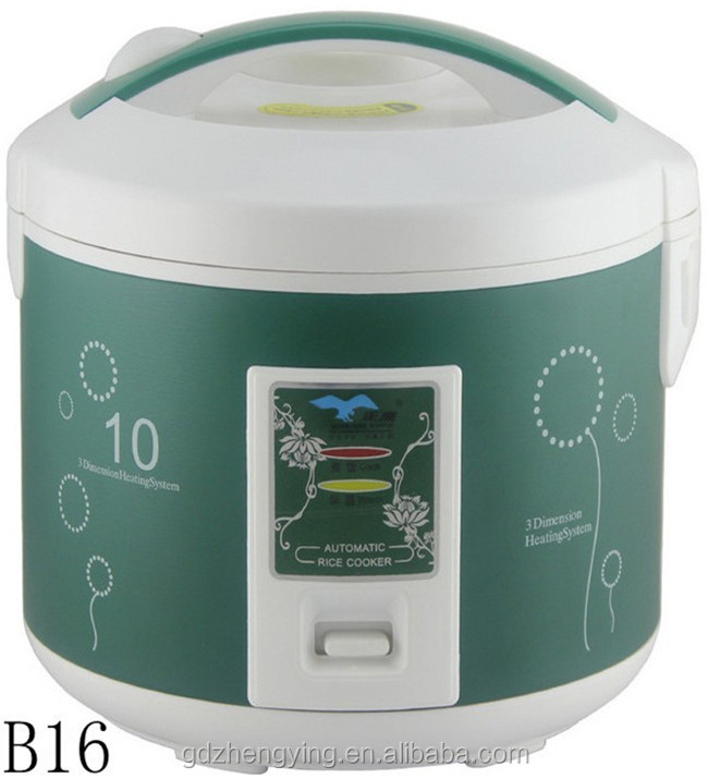 2015 New Product Thermal Deluxe Rice Cooker Tinplate Housing