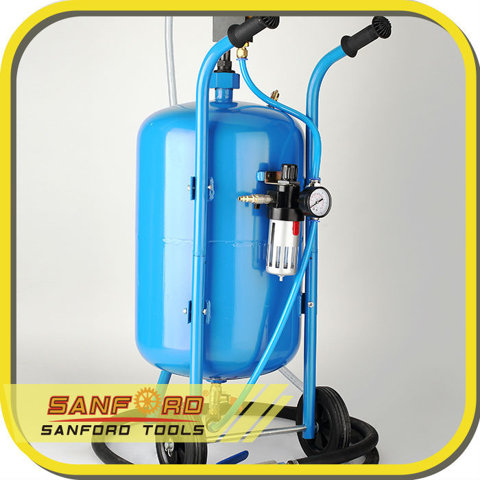 CE Approved Dry Cleaning Machine 100Lbs Portable Sandblaster