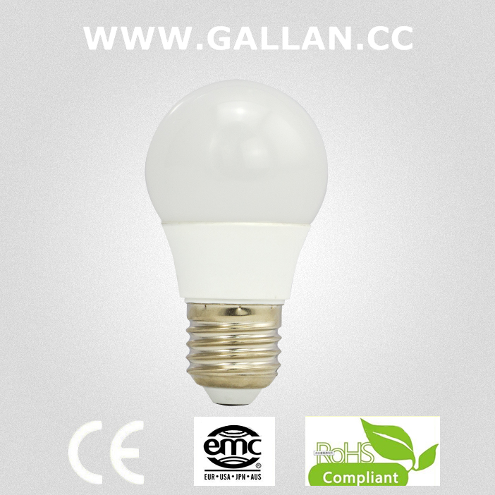 Heat resistance PC+Aluminum 7 watt gu13 led bulb