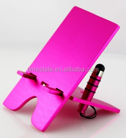 Hot iDock 2 Aluminium 2 piece design Cell Phone Holder with Stylus