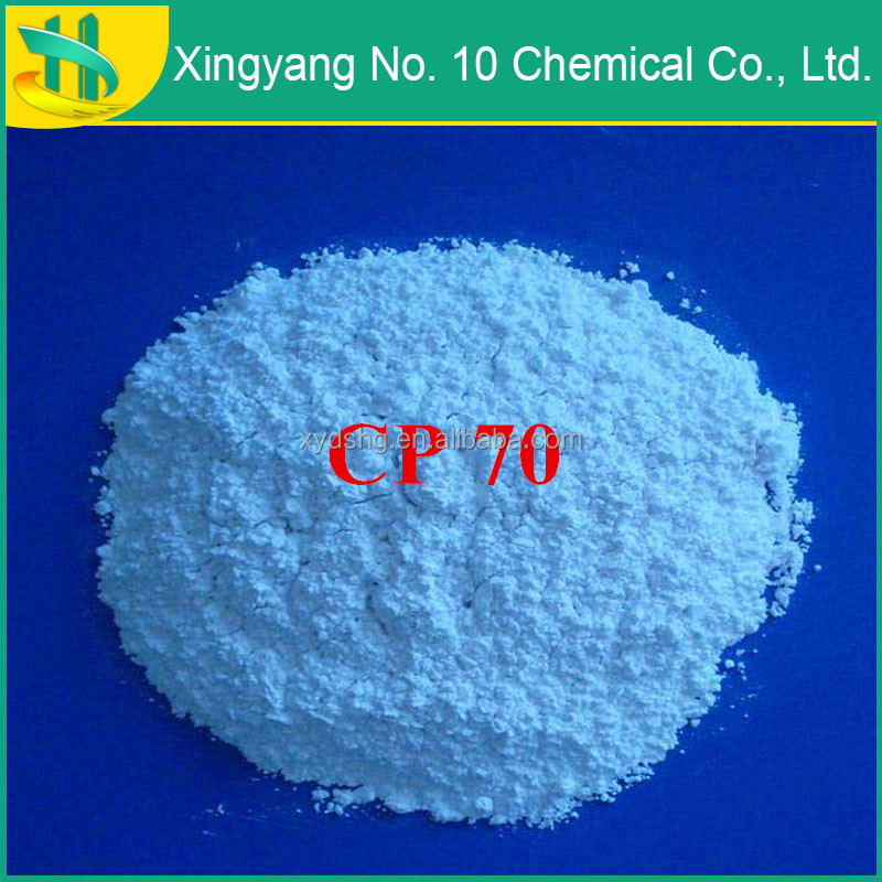 High quality chlorinated paraffin wax 70% fire retardant material
