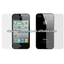Hight Quality Clear Screen Protection for iphone5 Screen Shield with front and back face