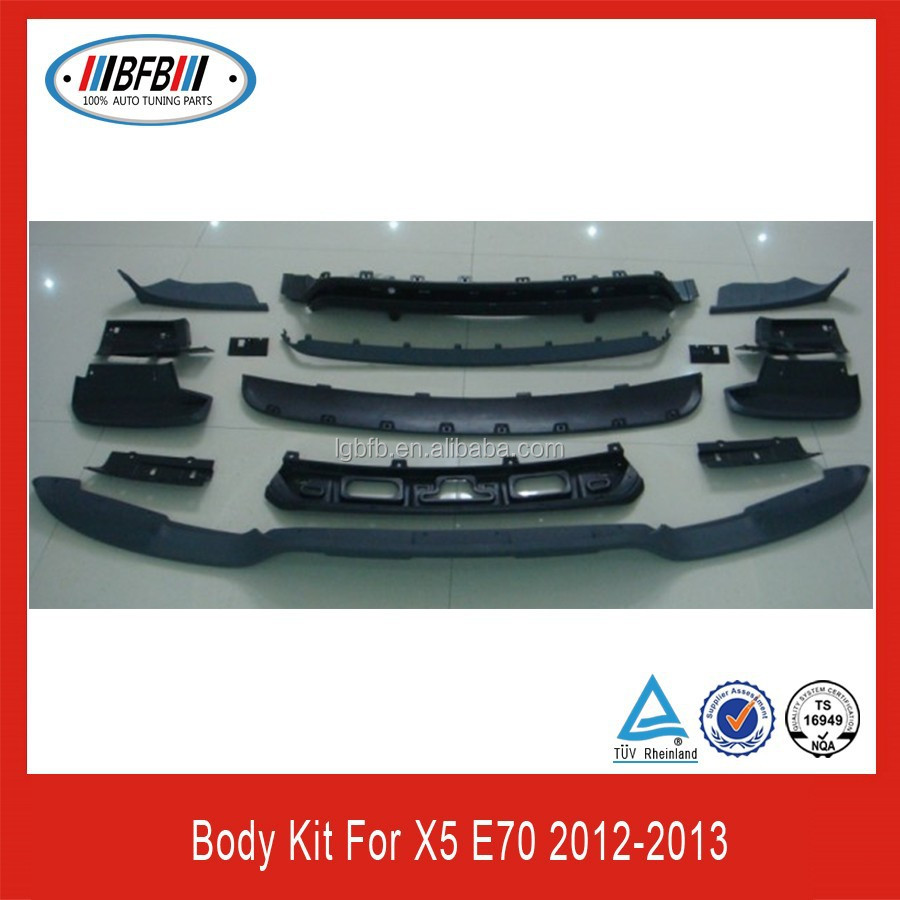 Car accessories auto truck rear bumper bodykit for bmw e70 X5 series