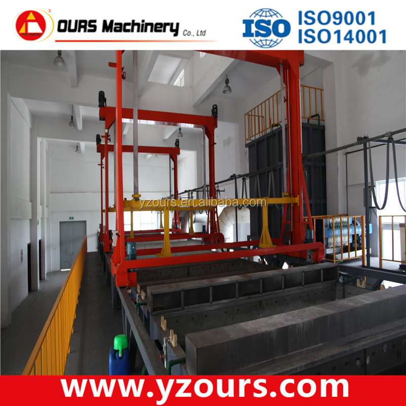 Wash and Phosphate Conversion Coating Equipment and systems