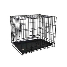 Dog Galvanized Wire Mesh Square Wire Mesh Pet Dog Cages / Folding Iron Kennel