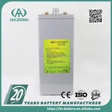 high quality Long life 2v 500ah gel batteries deep cycle tubular battery for inverter