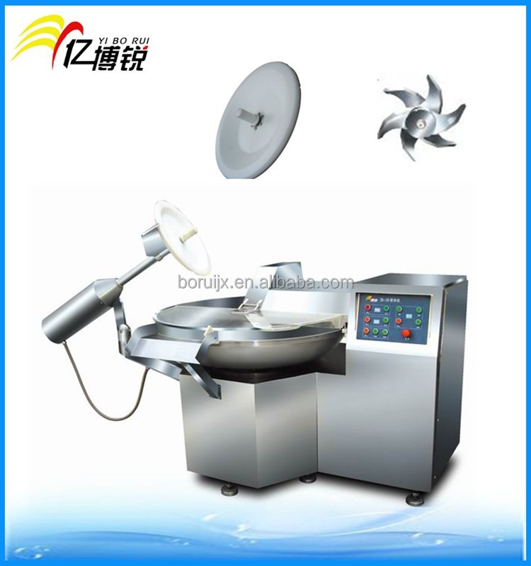 factory price stainless steel automation meat bowl cutter /mixer