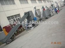waste film crushing washing drying /agricultural mulching film /high tunnel film crushing washing drying machine