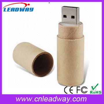2016 Hot Selling Recycled Paper Memory USB 2.0 Sticks