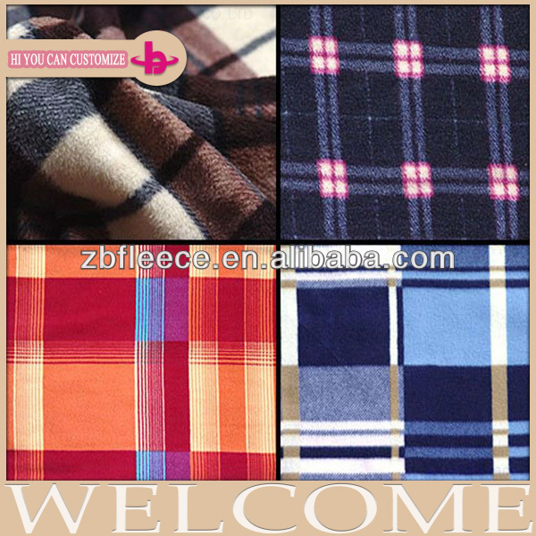 Two Sides Brushed One Side Antipilling Solid Polar Fleece Fabric