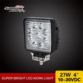 4x4 led work lamp mounting ears brackets Epistar chip 27w led worklamp