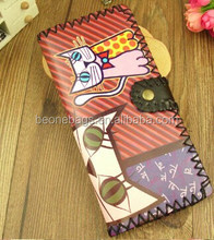 2015 Trendy New Hot Product Funny Ethnic Tropical Girls Fancy Wallets