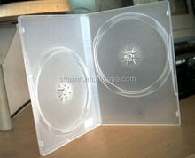 shantou 14mm clear dvd case with sleeve