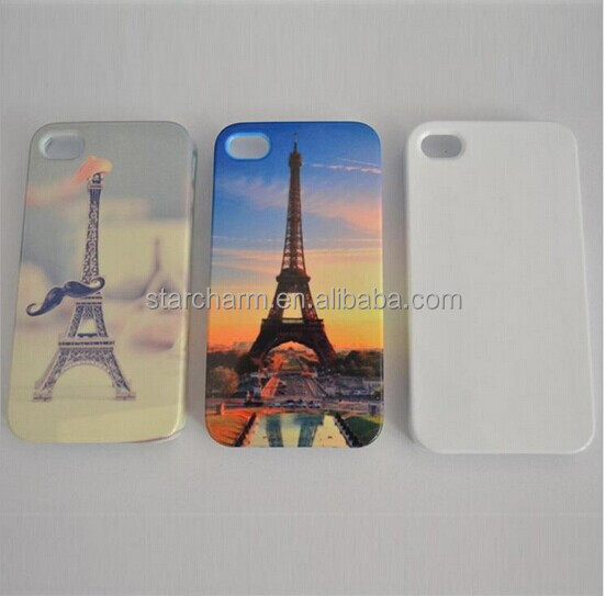 Custom Design Phone Cover Factory Price High Quality 3D Film Sublimation Blank Case for Iphone