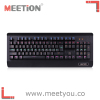 2016 latest anti-abrassion and anti-scratch keyboard with 6 different color lights kailh blue switch and privated mold keyboard