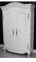 Wardrobe 2 French style hand painted furniture classic wardrobe bed room furniture