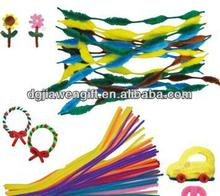 manufacturer cheaper price Children work products Chenille Stem For craft