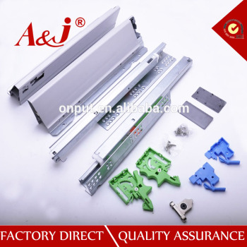 Promotional soft closing drawer