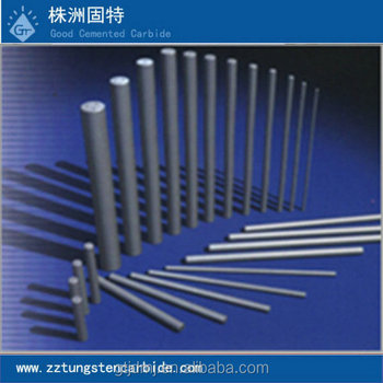 Zhuzhou dimmensions tungsten carbide blank rods,cemented weiding rods