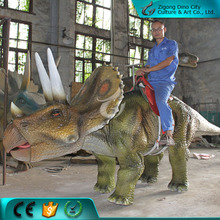 Hot Sale Artificial Funny Rideable Dinosaur Ride for Children Park