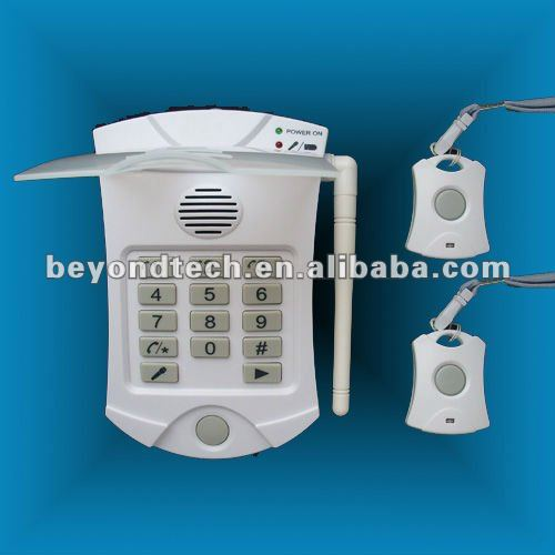 Autodial panic alarm - Automatic Emergency telephone - call for help auto phone number dial - ideal for elderly or disabled