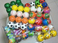 Promotional Toy Style and PU Foam..etc Material cheap stress balls