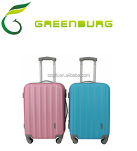 Stocklot Candy colored trolley luggage 3pcs suitcase