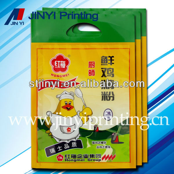 LDPE plastic smart film powder packaging bag with printing